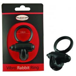 MALESATION Vibro-Rabbit-Ring black