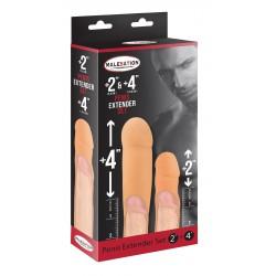 MALESATION Penis Extender Set 2' + 4'